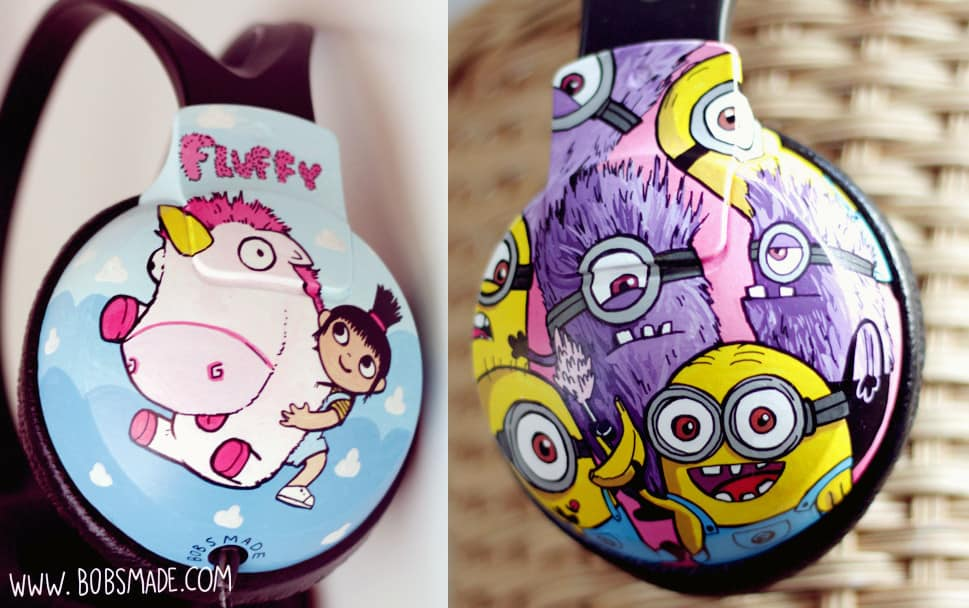 despicable-me-custom Headphones