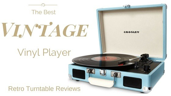 Best Vintage Retro Turntable
