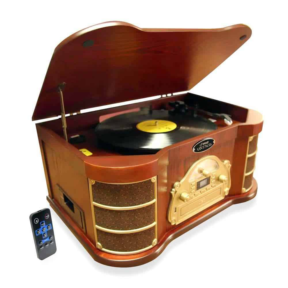 Best Vintage Turntables – 6 Retro Look Record Players Review