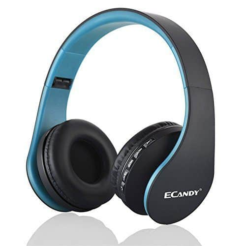 Ecandy Bluetooth Wireless Over-ear Stereo