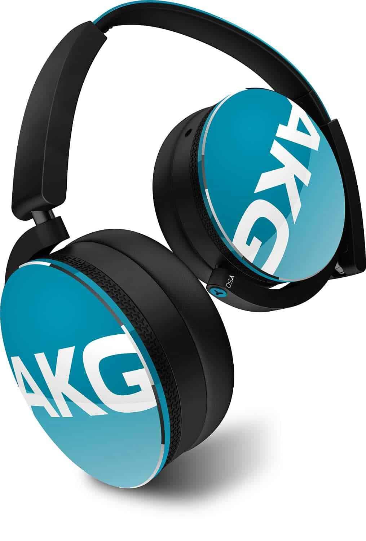 AKG Y50 Portable Foldable On-Ear