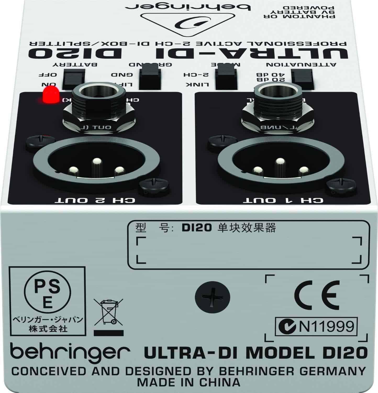 Behringer DI20 Ultra DI