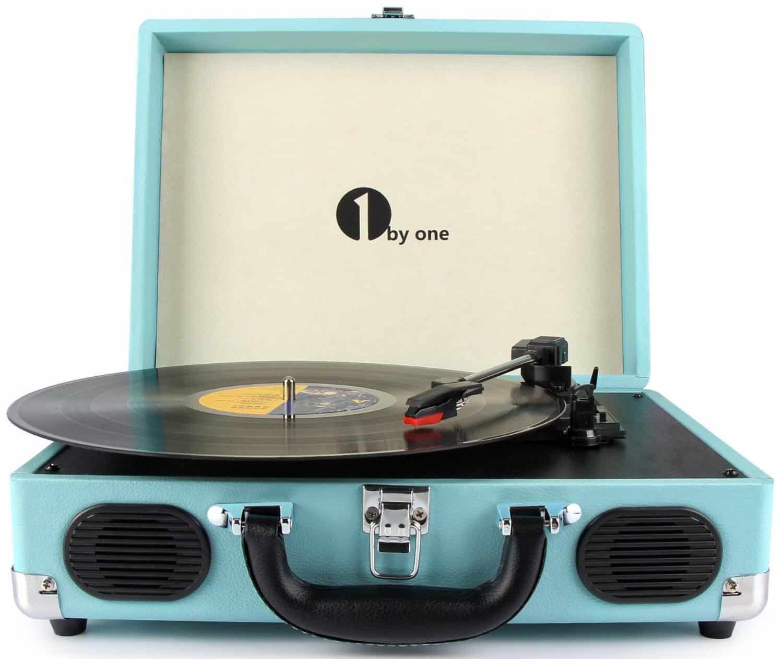 1byone Portable Vinyl Turntable