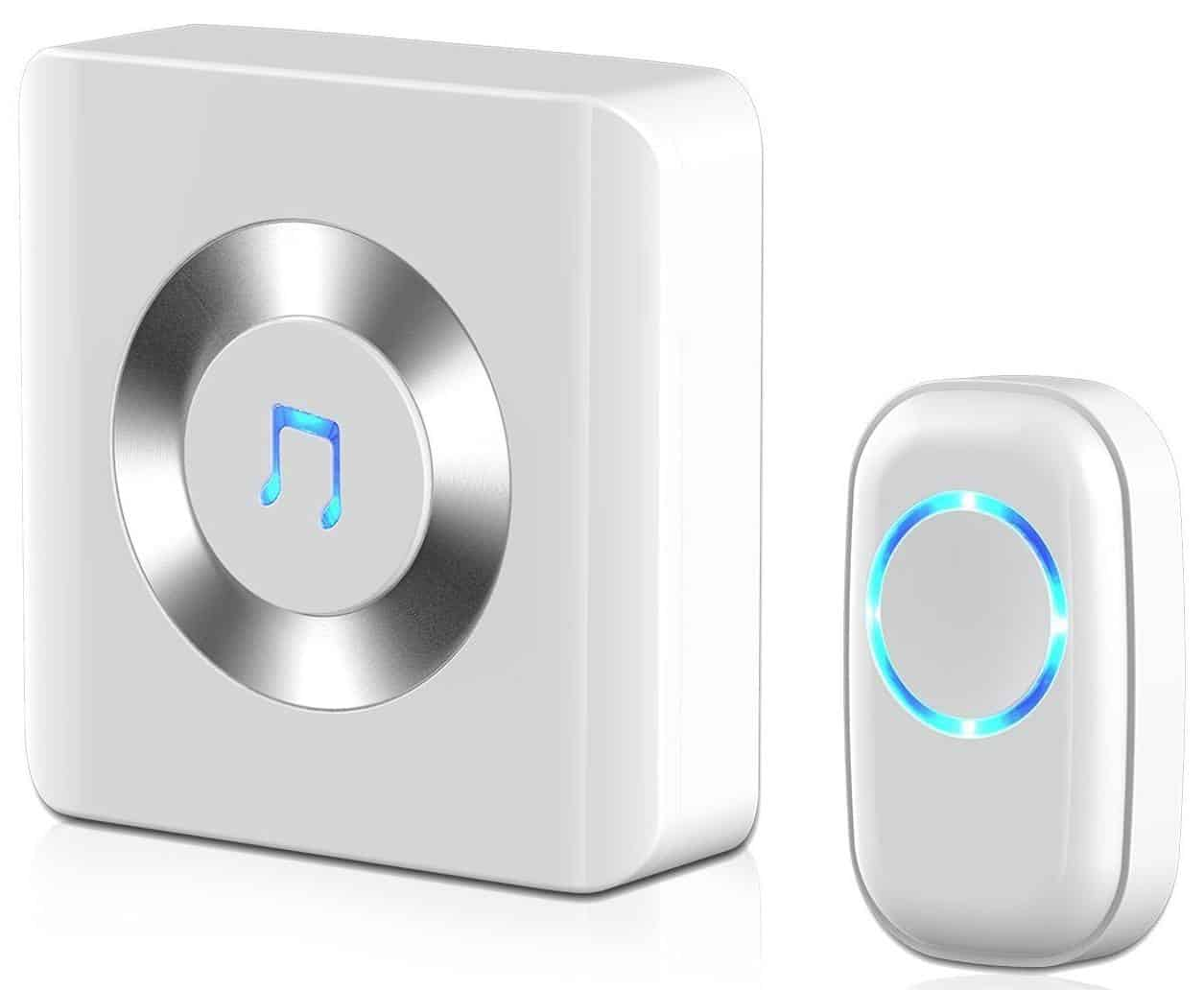 JETech Portable Wireless Doorbell