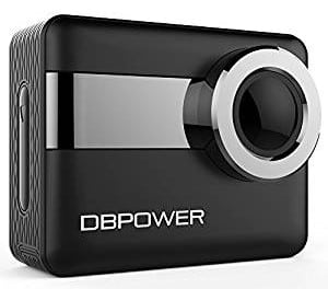 DBPOWER 4K WiFi Action Camera
