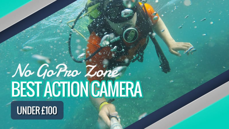 The Best Budget Action Camera Under £100: UK Reviews