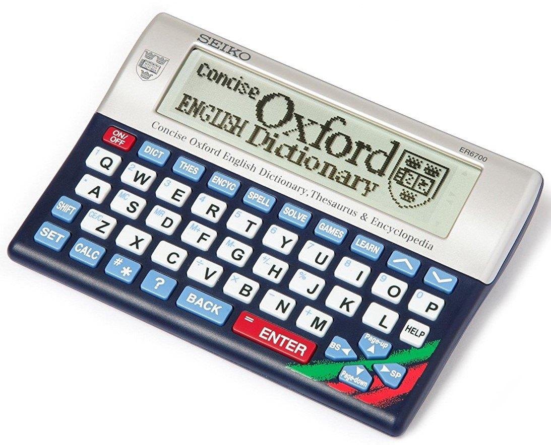 Seiko ER6700 Concise Oxford Dictionary