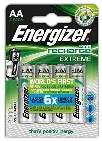 Best AA Rechargeable Batteries – Energizer