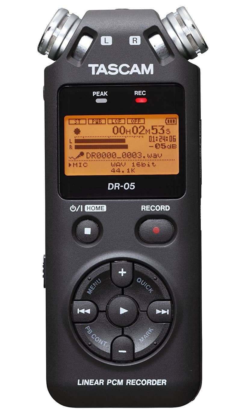 Best Dictaphone for Doctors – Tascam