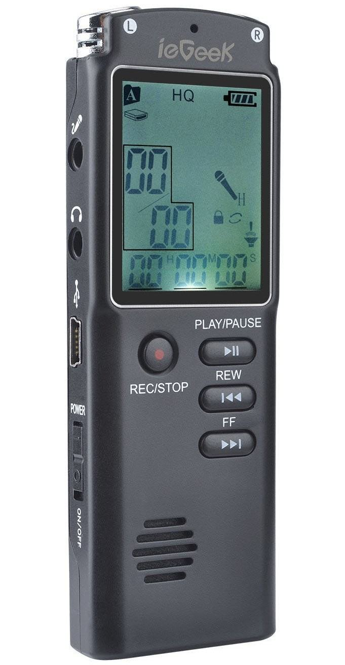 Best Dictaphone for Lectures – ieGeek