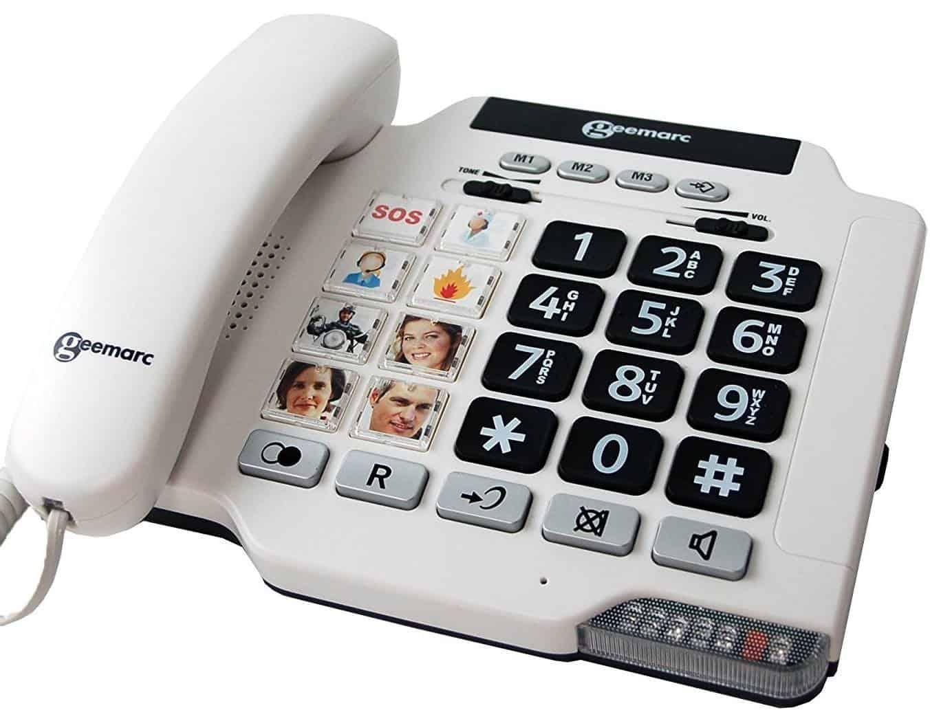 Best Landline Phone for the Elderly – Geemarc