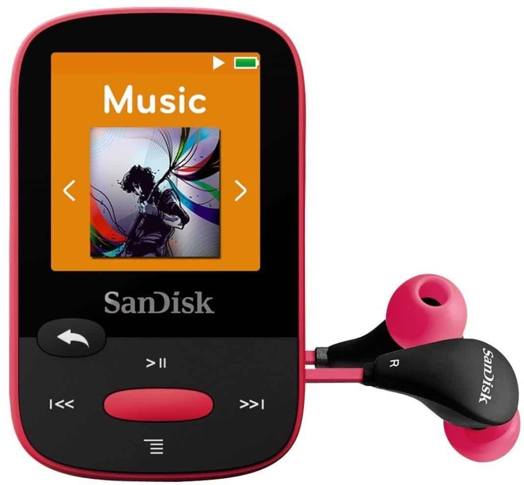 Best MP3 Player for Running – SanDisk