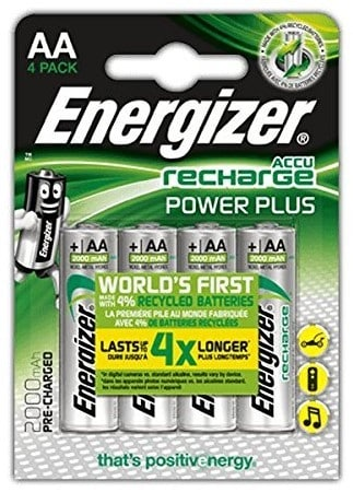 Best Rechargeable Batteries for Camera – Energizer