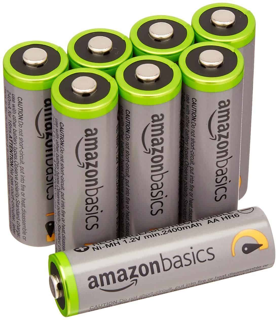 Best Value Rechargeable Batteries – Amazon Basics