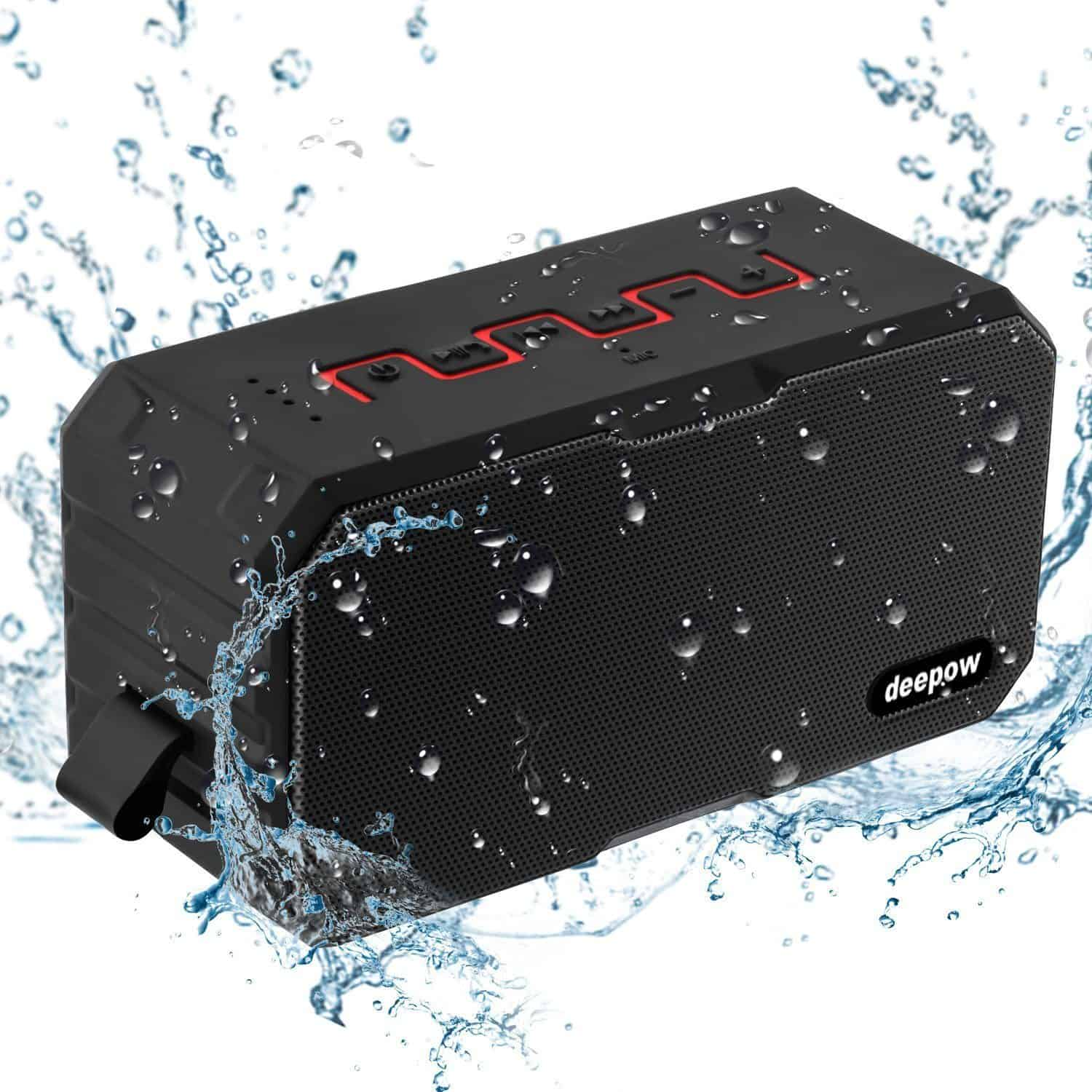 Best Outdoor Waterproof Speakers - DEEPOW