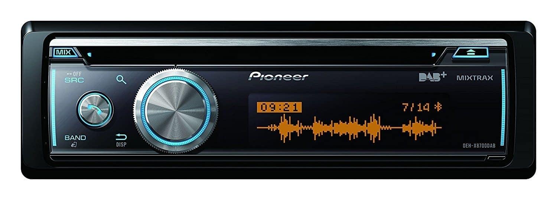 Best DAB Bluetooth Car Radio – Pioneer