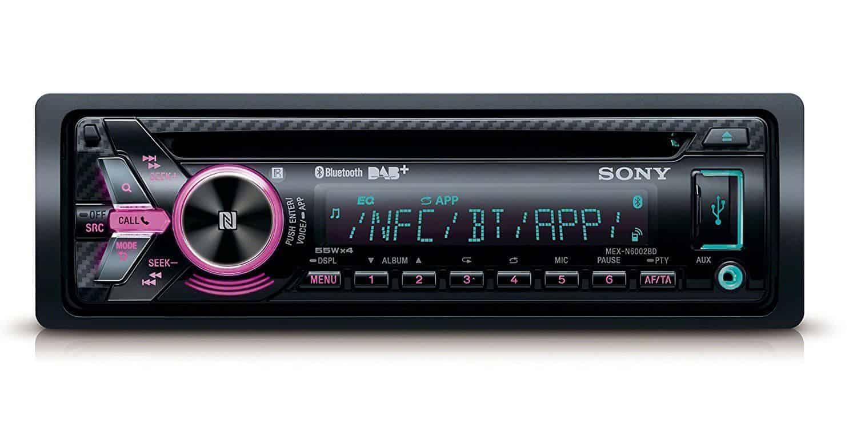 Best DAB Bluetooth Car Radio – Sony