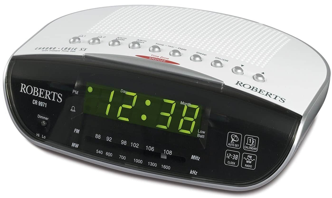 Best Digital Radio Alarm Clock – Roberts