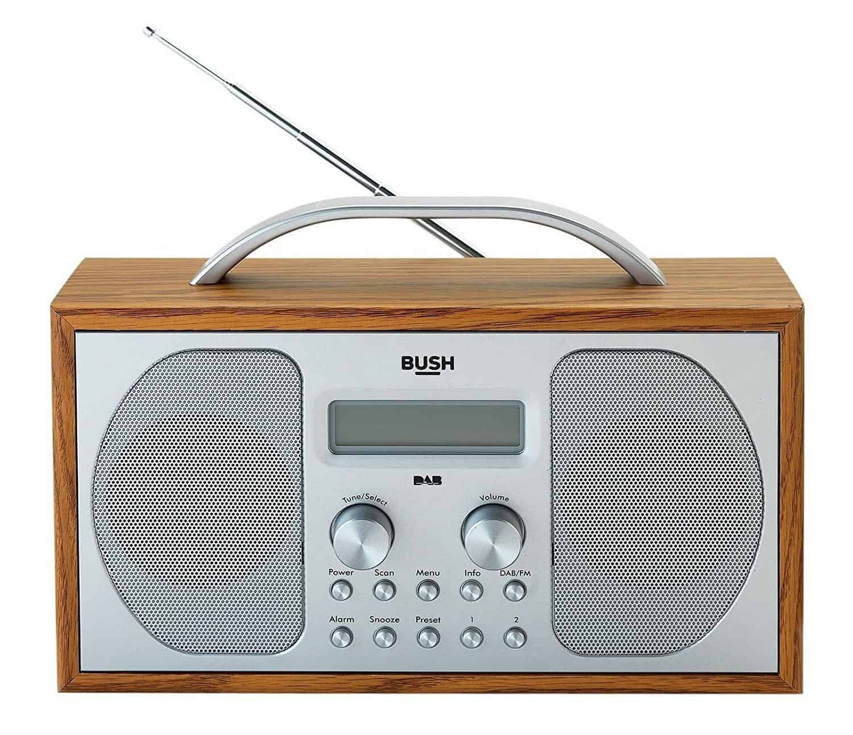 Best Portable DAB Radio Under £50 - Bush