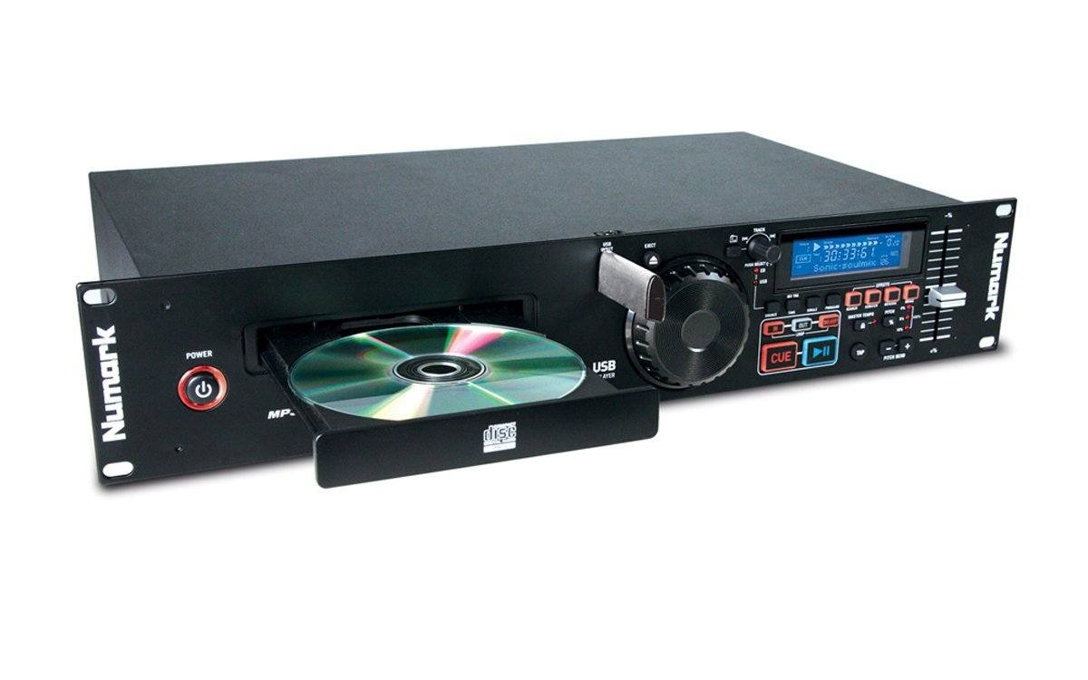 Numark MP103 USB CD Player and DJ Controller with USB MP3 Player, Rack Mount, and Features for DJs