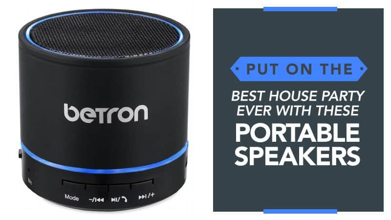 Put on the Best House Party Ever with These Portable Speakers