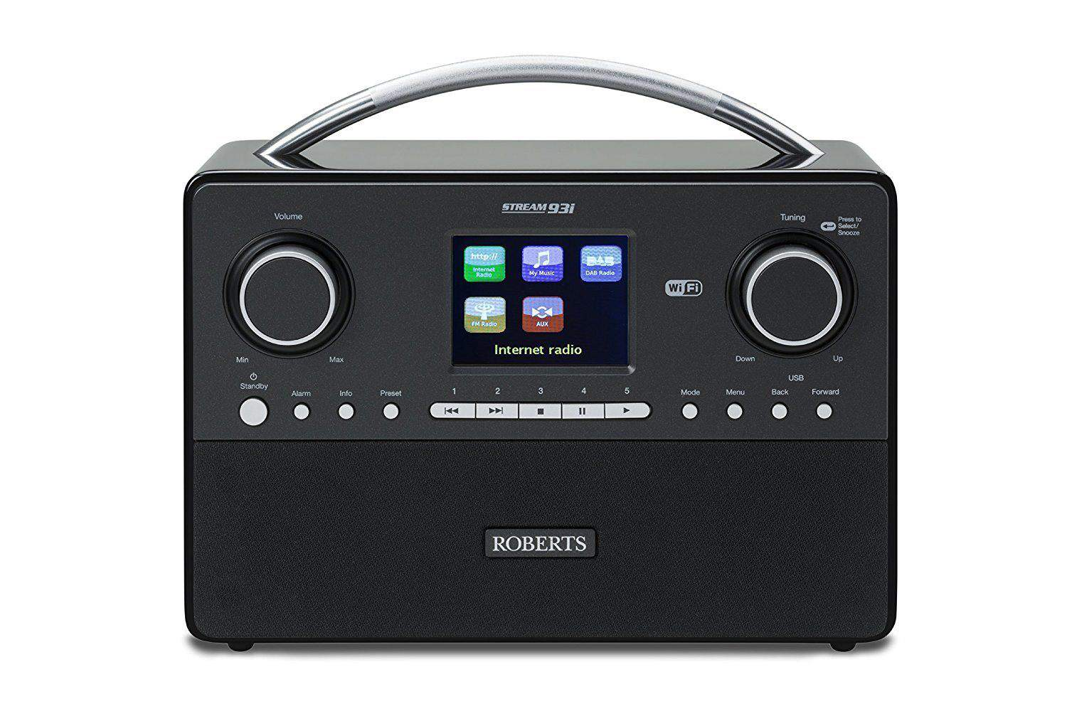Small Rechargeable DAB Radio – Roberts