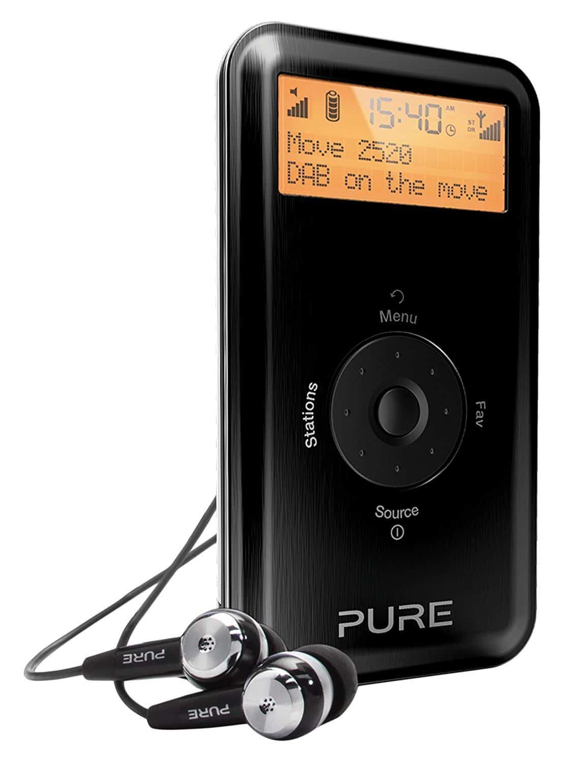 Best Small Portable DAB Radio – Pure