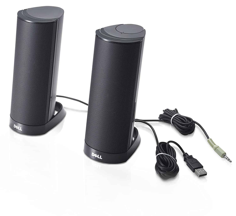 DELL AX210 Speaker for PC - Black