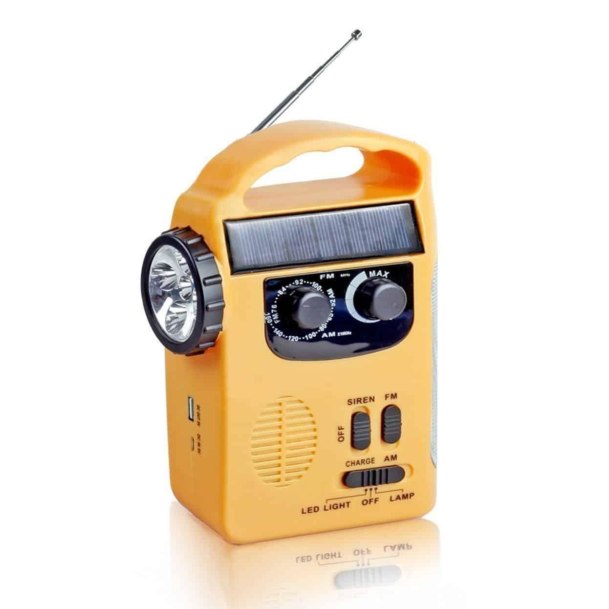 Solar Wind-Up Radio – Semlos