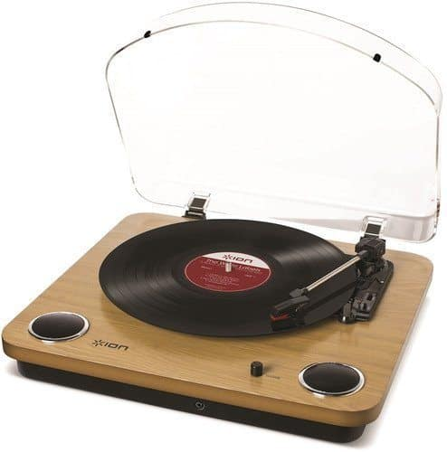 ION Audio Max LP Three Speed Vinyl Conversion Turntable