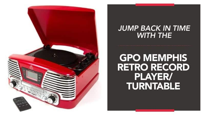 Jump Back in Time with the GPO Memphis Retro Record Player