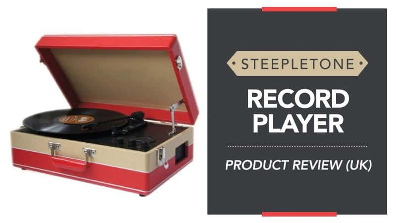 Steepletone Record Player – Product Review (UK)