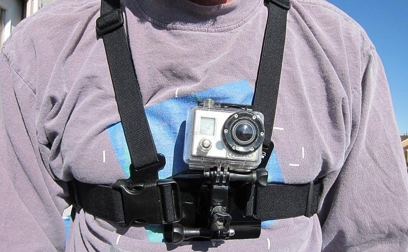 go pro chest mount