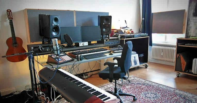 Home Studio Room Idea